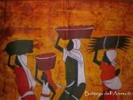 BATIK DIPINTO 90X72- Foto Due - Quadri e Batik